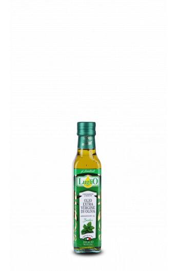 Olivový olej s Bazalkou Luglio 0,2l